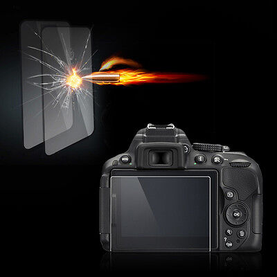 Clear Tempered Glass Film Camera LCD Screen Protector Guard for Nikon D5500 CK