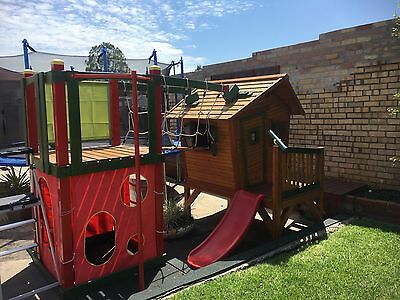 Kids Children's cubby house, play gym and activity centre