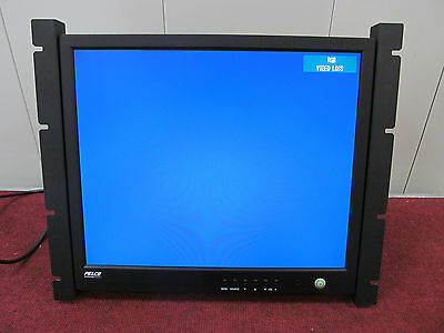 Pelco PMCL419HB 19-inch TFT LCD Security Monitor, 1280 x 1024 w/ Rack Mount Ears