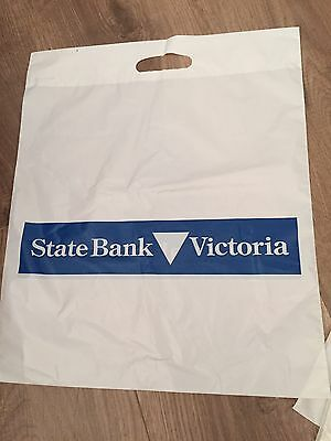 State Savings Bank of Victoria Plastic Bags