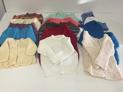 BB46 Bundle Of Hand Knitted jumpers X14