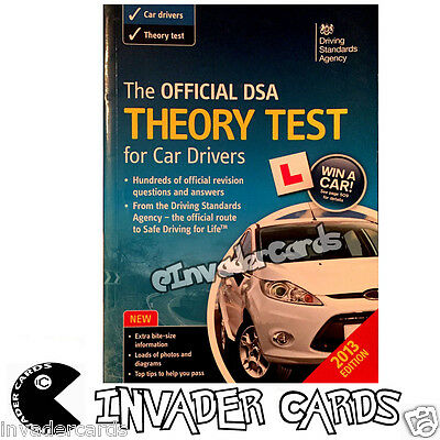The Official DSA Theory Test For Car Drivers 2013 Edition Paperback Handbook