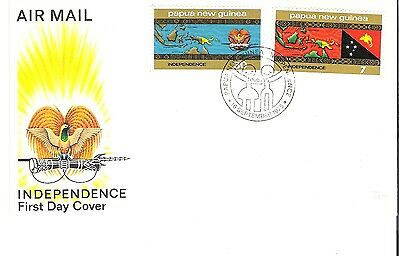 (31) Papua New Guinea Independence FDC