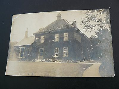 Real Photo RP Postcard - The Rectory Upworth