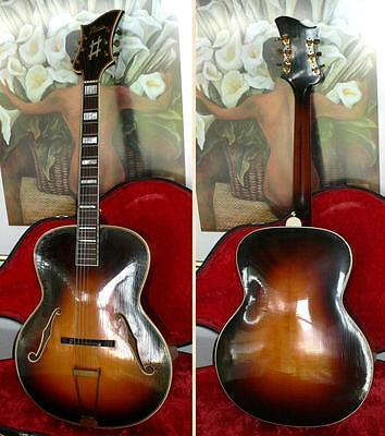 LEVIN ROYAL archtop jazz guitar from 1942
