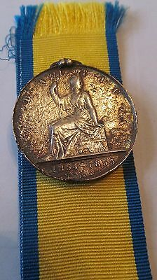 Baltic Medal 1854-1855 Genuine Un-named as Issued