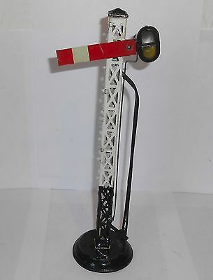 Rare 1920`s Bing lattice railway signal German vintage O gauge