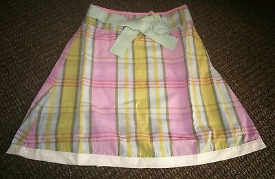 Joules check skirt, new with tags age 5 years
