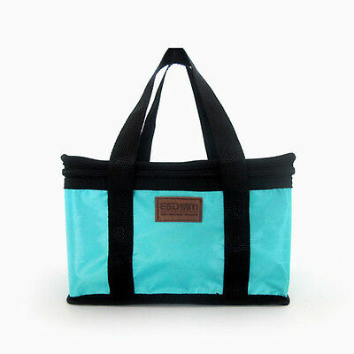 Portable Insulated Thermal Cooler Carry Lunch Box Tote Storage Travel Picnic Bag