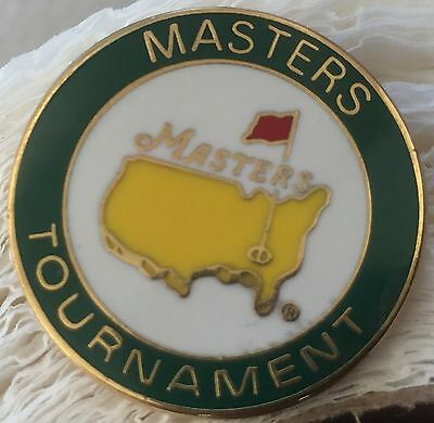 Rare Masters Golf Ball Marker - Brass Marker in Excellent Condition