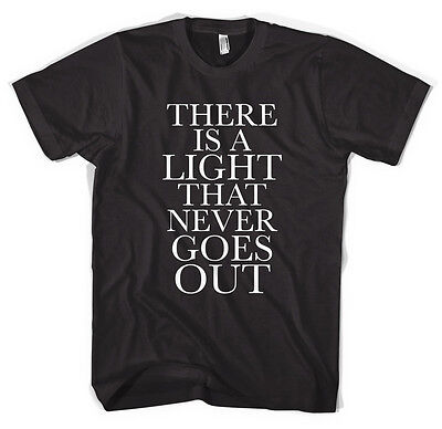 The Smiths Morrissey There Is A Light Unisex T shirt All Sizes Colours