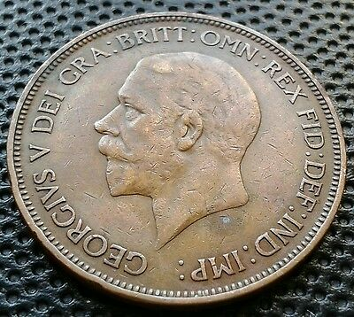 George V 1936 One Penny Coin Colectible Condition
