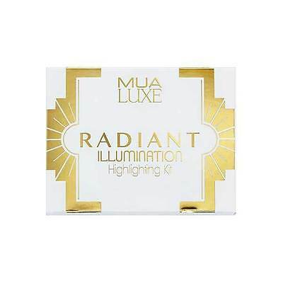 *New* Mua Luxe Radiant Illumination Highlighting Kit Palette Bnib Sealed