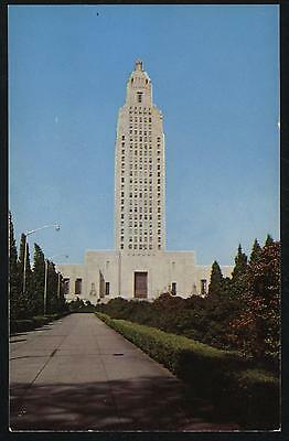 Louisiana State Capitol Baton Rouge Louisiana Vintage Postcard Cond: Very Good
