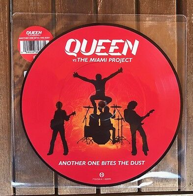 Queen vs The Miami Project - Another One Bites The Dust 7''
