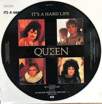 Queen - It's a Hard Life - 12'' vinyl Picture Disc