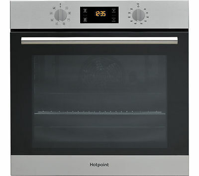 HOTPOINT SA2544CIX Electric Single Oven Stainless Steel Multifunction 66 litres