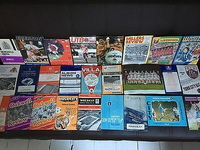 Collection of 1960s ++ Programmes all Listed, mixture of Clubs.
