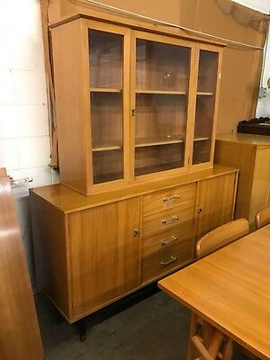 Drexel MIDCENTURY MODERN DINING Room Set TABLE CHAIRS Credenza Milo Baughman