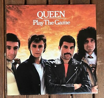 Queen- Play the Game 7'' german