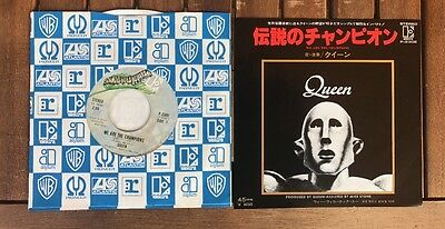 Queen - We Are The Champions - Japan 7''