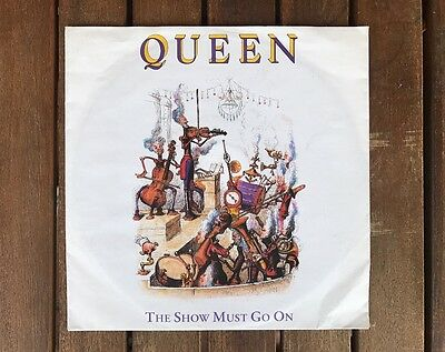 Queen - The Sow Must Go On UK 7''