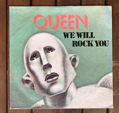 Queen - We Will Rock You - France 7''