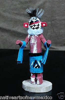 Navajo Warrior Miniature Kachina Doll Handmade!! Jacida Loley