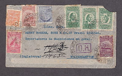 Brazil 1933 Airmail to England