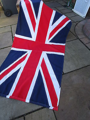 """Vintage Ex British Military UNION JACK FLAG BRITISH MADE approx 4ft 6""""x 2ft 3"""""""