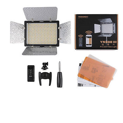 YONGNUO YN300 III LED Camera Video Light For camcorder Digital 3200k 5500K