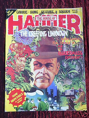 The House Of Hammer Magazine -#9- June 1977 - Carrie - Squirm - Brian De Palma