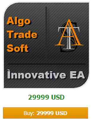 Forex EA AlgoTradeSoft Innovative - about 34% profit / month - Only EUR/USD