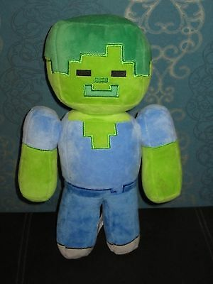 Official Minecraft Steve Zombie soft toy 30cm tall Xbox playstation