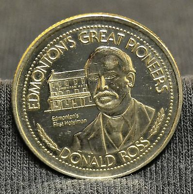 Souvenir of Edmonton Klondike Days 1981 Donald Ross Token Medal