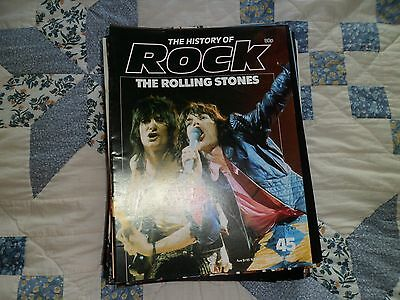 The History Of Rock Magazine Issue 45. The Rolling Stones