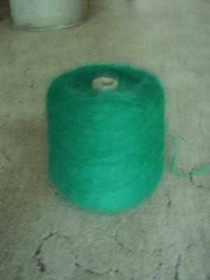 Cone of Mohair Knitting Wool Chunky 78% Mohair 360gms  Dark Kingfisher.