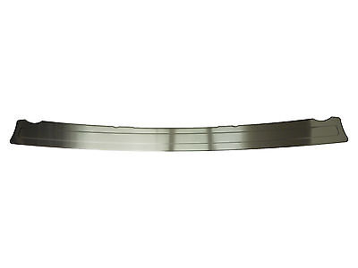 Chrome Brushed Rear Bumper Sill Steel Cover Protector Guard for Citroen Nemo
