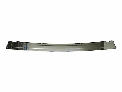Chrome Rear Bumper Sill Stainless Steel Trim Cover Protector Guard Fiat Fiorino