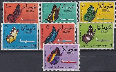 SOMALIA REPUBLIC 1961 Butterflies Airmail complete set / MNH / G84844 F14