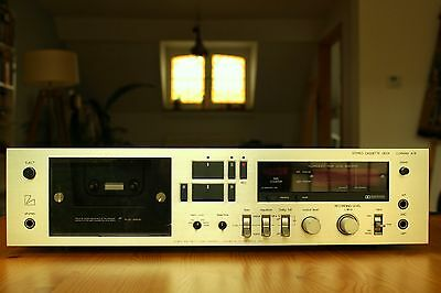 LUXMAN STUDIO STANDARD SERIES K-8 Stereo Cassette Deck NEW BELTS FITTED