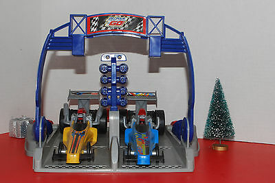Mattel Fisher Price Shake N Go Dragstrip with Working Funny Cars No Box AD 71F