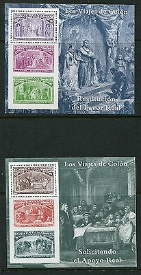 Spain USA Joint Issue - Scott 2677-82 Columbus Joint Issue 1992 - NH
