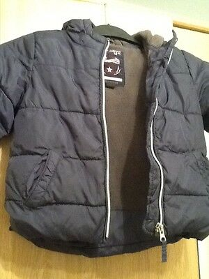 NEXT boys lined warm jacket age 18 /24 months height 92cm excellent condition