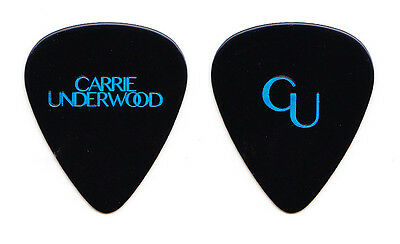 Carrie Underwood Black Guitar Pick - 2016 Storyteller Tour
