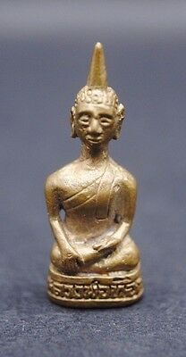 18Th Century Bronze Buddha Figurine