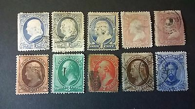 United States of America  1857-1861 issues