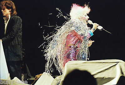 Dale Bozzio Missing Persons 4 Negatives 35Mm Long Beach Arena New Years Eve 1982