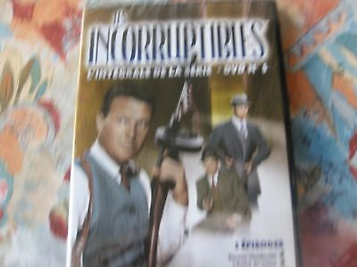 dvd incorruptibles n5 3 episodes neuf sous blister