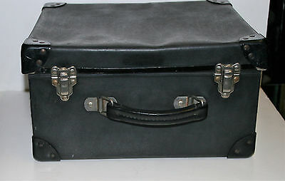 Vintage Military Navy Uniform Small Suitcase Cap or Hat Box Carrying Case